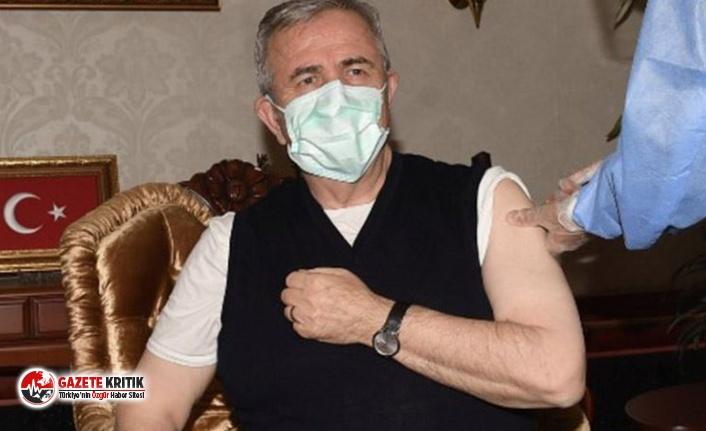 Ankara Büyükşehir Belediye Başkanı Yavaş koronavirüs aşısı oldu