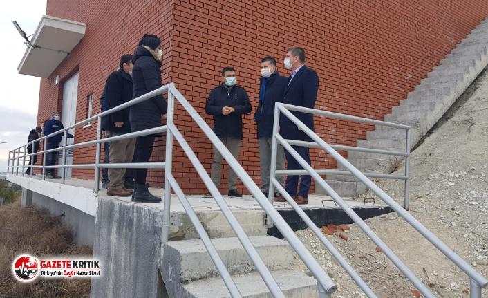 Başkan Ercengiz su kuyuları ve su depolarında incelemelerde bulundu