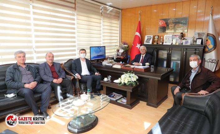 Başkan Ercengiz'den STK'lara ziyaret