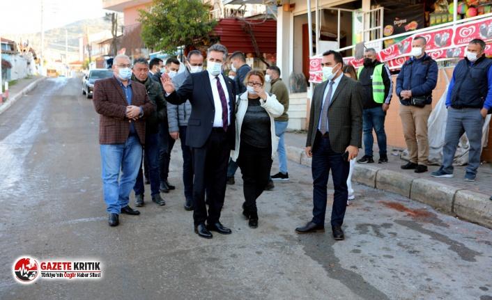 Başkan Sandal sel felaketinden etkilenen vatandaşları ziyaret etti