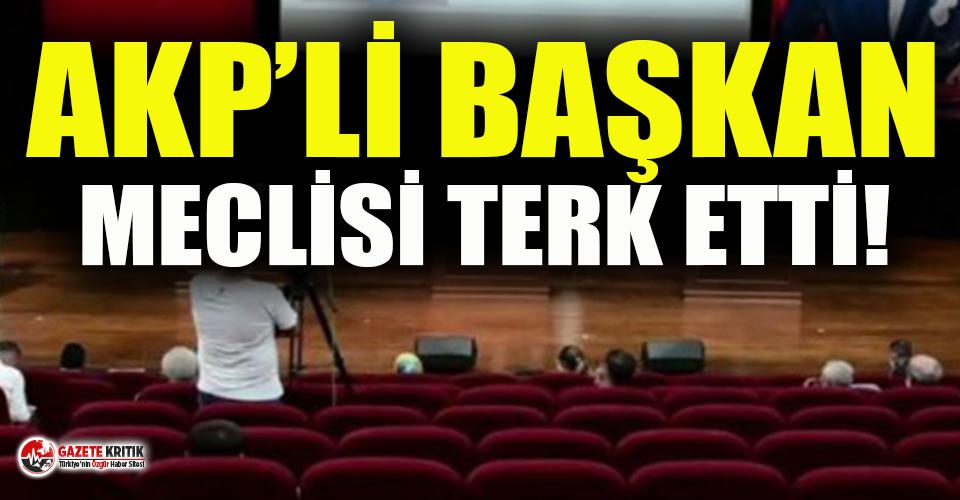 Belediyede taciz iddiası: AKP'li başkan Meclis'i terk etti