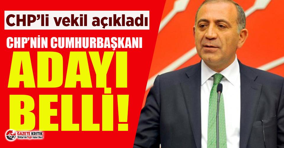 CHP'li Gürsel Tekin: CHP'nin Cumhurbaşkanı adayı belli