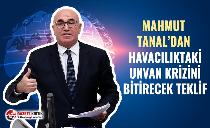 CHP'li Mahmut Tanal HAVADAKİ 'ELEMAN' KRİZİNİ MECLİS'E TAŞINDI