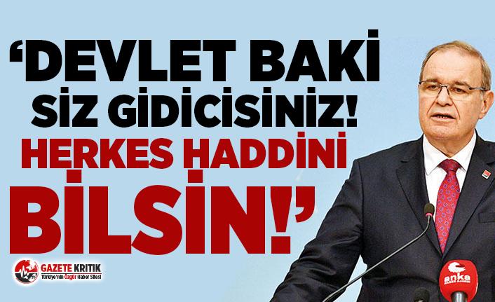 """CHP'li Öztrak: """"Devlet benim"""" diyerek, millete dikleniyorsunuz, herkes haddini bilsin!"""