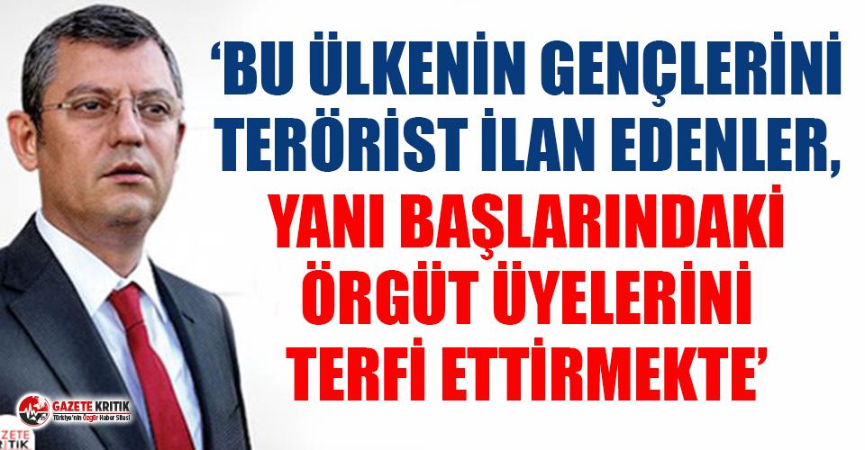"""CHP'li Özel'den Boğaziçili öğrencilere yönelik yapılan """"terörist"""" yakıştırmalarına sert tepki"""