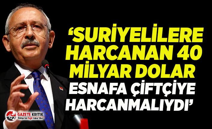 Kılıçdaroğlu: 128 milyar doların nereye gittiğini çiftçiye, esnafa açıkla!