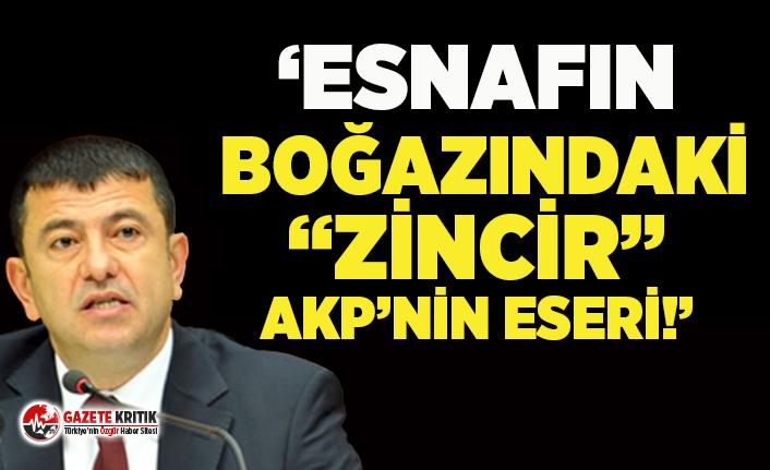 Veli Ağbaba: Üç harfli zincir marketler kanserli hücre gibi yayıldı!