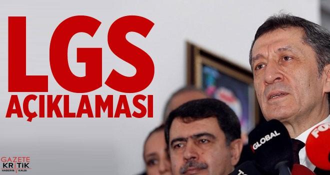 Milli Eğitim Bakanı Selçuk'tan LGS açıklaması: Sorunları çözebilmek için elimizde çok güçlü argümanlar var