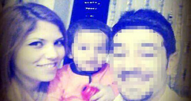 Eşini kucağında çocuğu varken başından vurdu