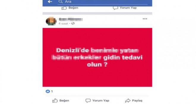 Denizli'de sosyal medyayı hareketlendiren paylaşım