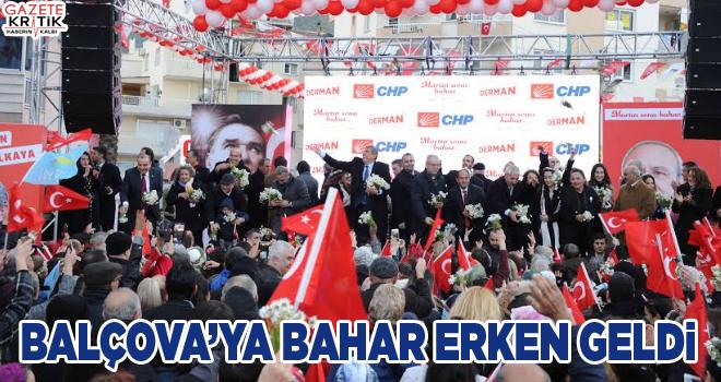 Balçova'ya Bahar Erken Geldi