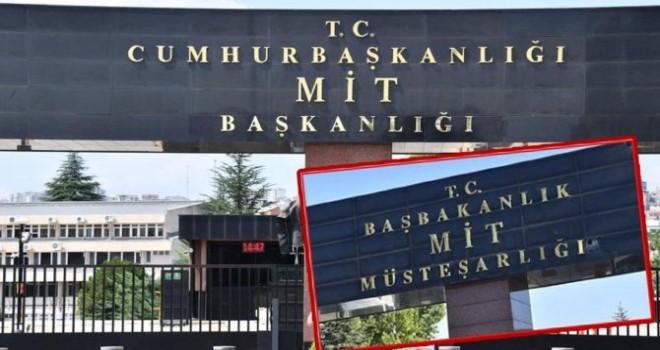 """MİT'in girişinde """"Başkanlık"""" değişimi"""