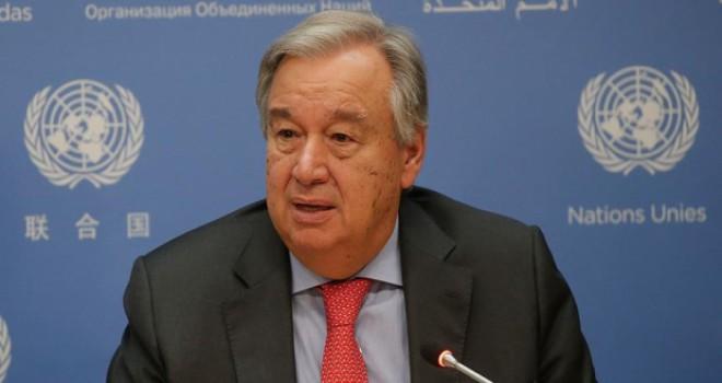 Birleşmiş Milletler'den yeni yıl mesajı: Dünyamız stres testinden geçiyor