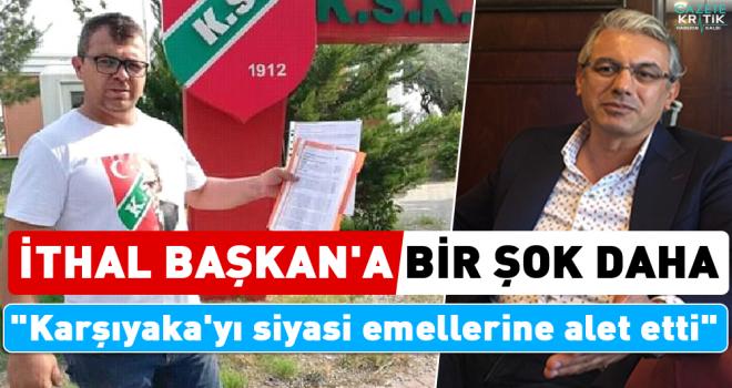 Karşıyaka'da Belediye Başkanı Hüseyin Mutlu Akpınar için ihraç talebi