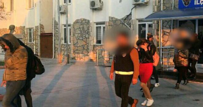 Didim'deki fuhuş operasyonunda 4 tutuklama
