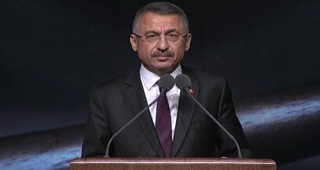 Cumhurbaşkanı Yardımcısı Oktay: 4 bin civarındaki FETÖ üyesi hakim  ve savcı tasfiye edilmiştir