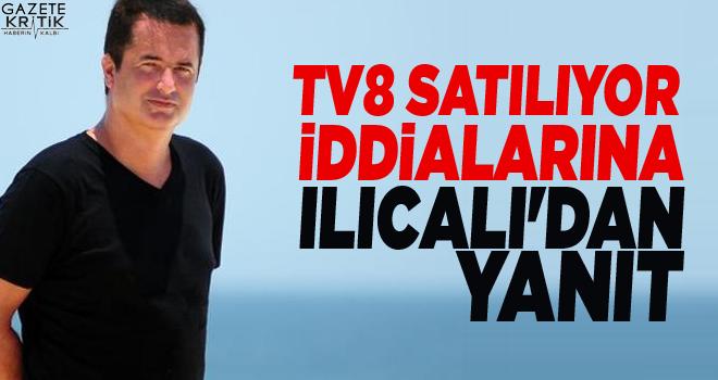 TV8 satılıyor iddialarına Ilıcalı'dan yanıt