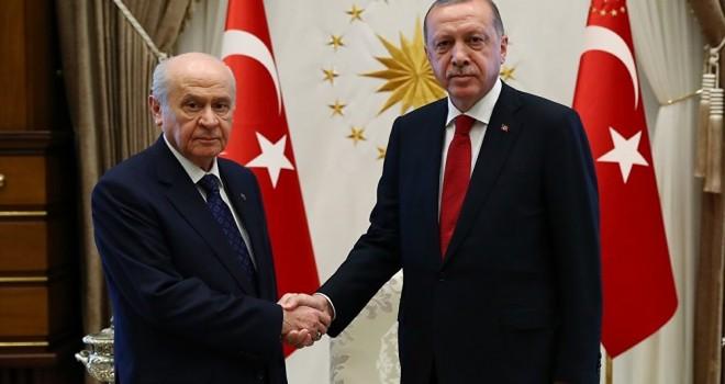 MHP kaynakları: Erdoğan ile Bahçeli yarın görüşecek