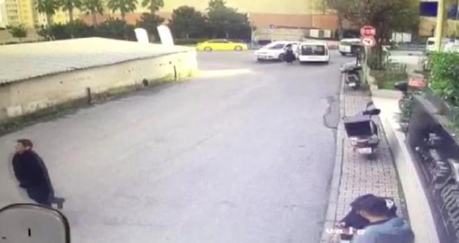 Ataşehir'de dehşet saçan kapkaççılar