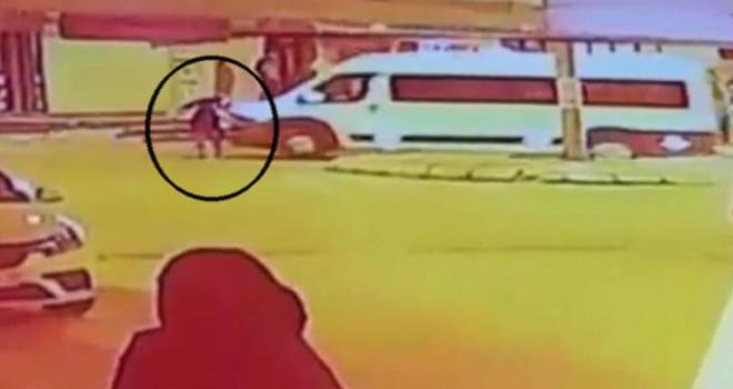 Bir kişinin öldüğü kaza güvenlik kamerasında