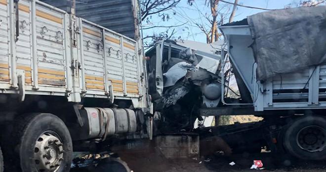 Isparta'da zincirleme kaza: 5 yaralı