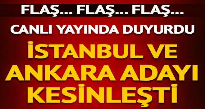 CHP'nin İstanbul ve Ankara Adayı Belli Oldu