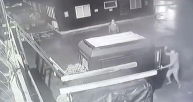 Cezayirli cinayeti kamerada