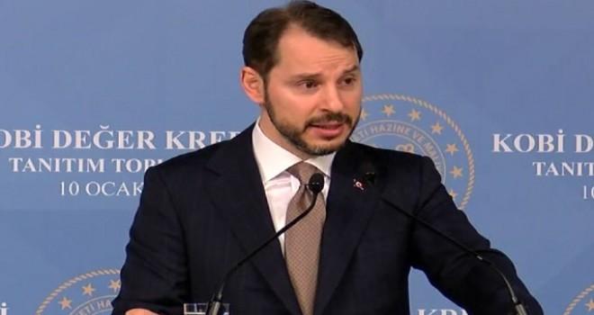 Bakan Albayrak KOBİ Değer Kredisi Tanıtım Toplantısı'nda konuştu