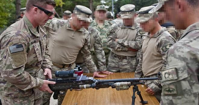 Menbiç devriyesine katılacak ABD askerleri Gaziantep'te eğitimde