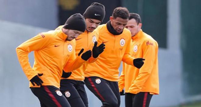 Galatasaray'da Boluspor kadrosu belli oldu