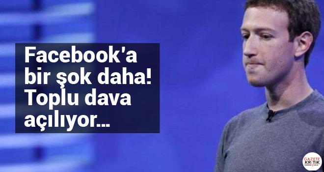 Facebook'a bir şok daha! Toplu dava açılıyor…