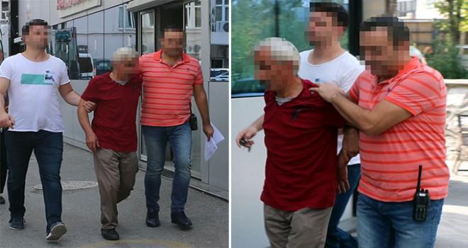 Kız çocuğuna tacizden tutuklandı