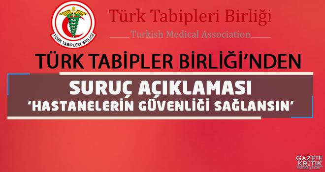 Türk Tabipler Birliği'nden Suruç Açıklaması