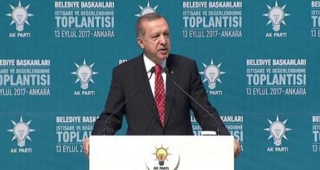 Erdoğan: Kavga etmekten hiçbir zaman kaçmadık, kaçmayız