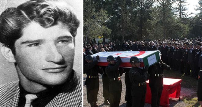 55 yıl sonra, vurulduğu yere defnedildi