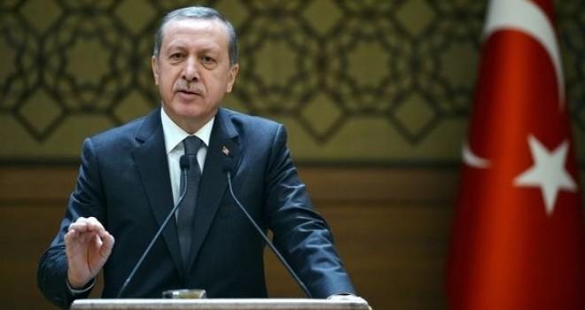 Erdoğan: İleri garnizon olarak görülen Türkiye'nin irade göstermesini kabul edemiyorlar