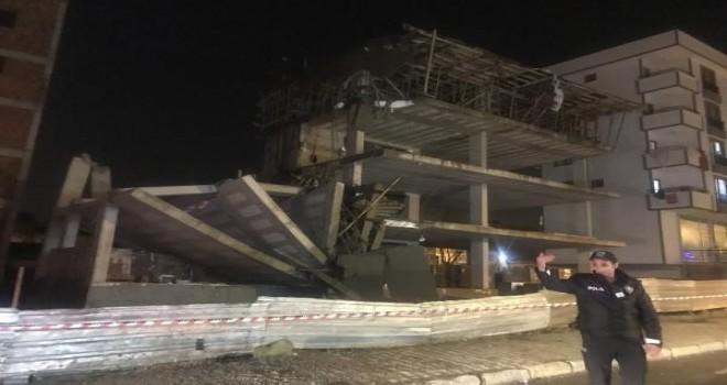 Sultanbeyli'de inşaat çöktü