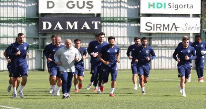 Fenerbahçe, Medipol Başakşehir maçının hazırlıklarına başladı