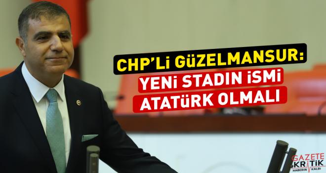 Güzelmansur: Yeni stadın ismi  Atatürk olmalı