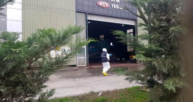 Çöp ayrıştırma tesisinde parçalanmış erkek cesedi bulundu