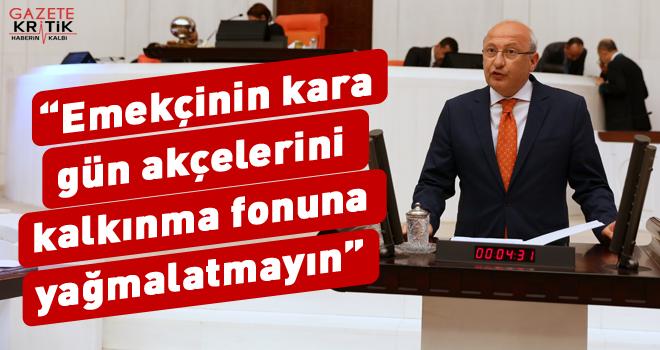 CHP'li Çakırözer hükümete Meclis kürsüsünden çağrıda bulundu: Halkın mutfağı yangın yeri, enflasyon farklarını maaşlara yansıtın