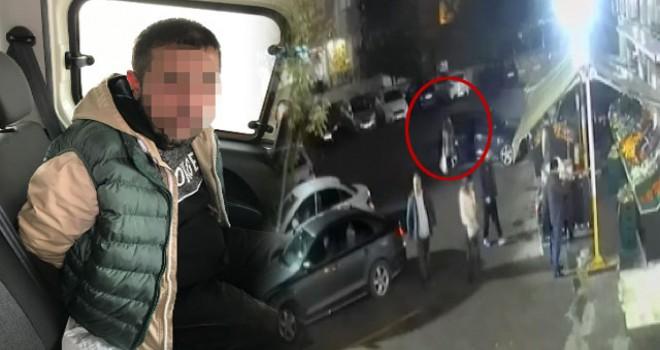 Tuzla'da kadına gasp kamerada