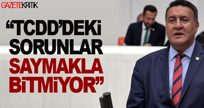 CHP'li Gürer: Demiryollarına yeniden kurumsal kimlik kazandırılmalı