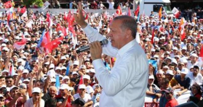 Erdoğan'dan Cumhurbaşkanlığı adaylığı için yasal değişiklik mesajı