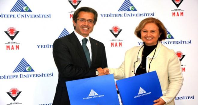 Yeditepe Üniversitesi ve TÜBİTAK MAM'dan bilim için iş birliği