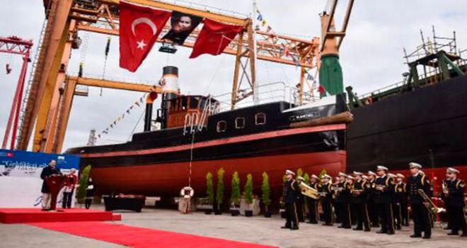 Kartal İstimbotu Deniz Kuvvetleri Komutanlığı'na teslim edildi