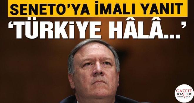 Pompeo'dan kritik Türkiye mesajı