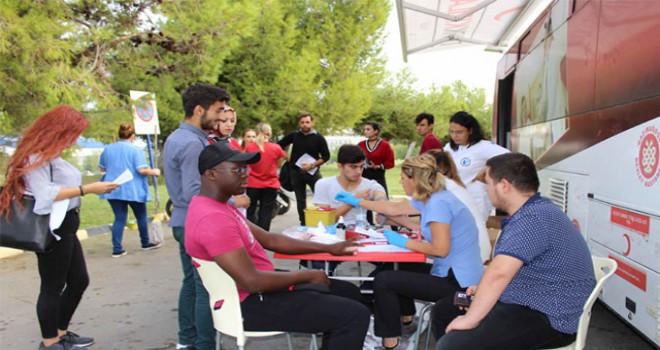 İki günde 110 ünite kan bağışlandı