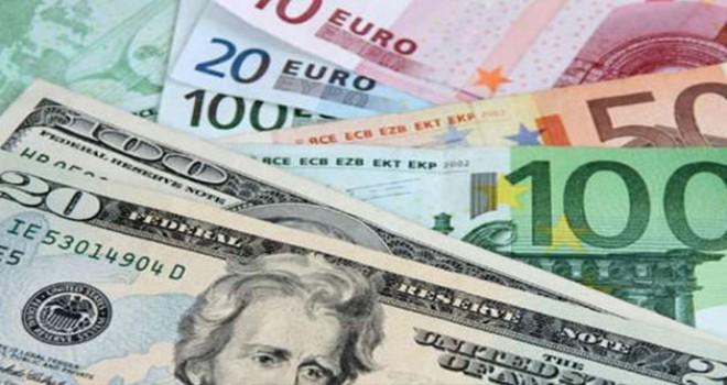 Dolar 5.34, euro 6.06 ve sterlin 6.88 lirada