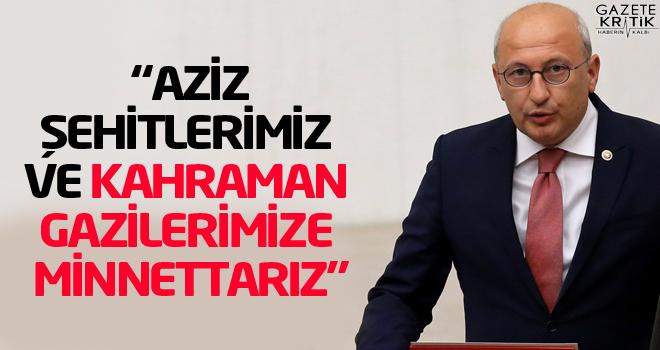 CHP'li Utku Çakırözer'den 15 Temmuz mesajı